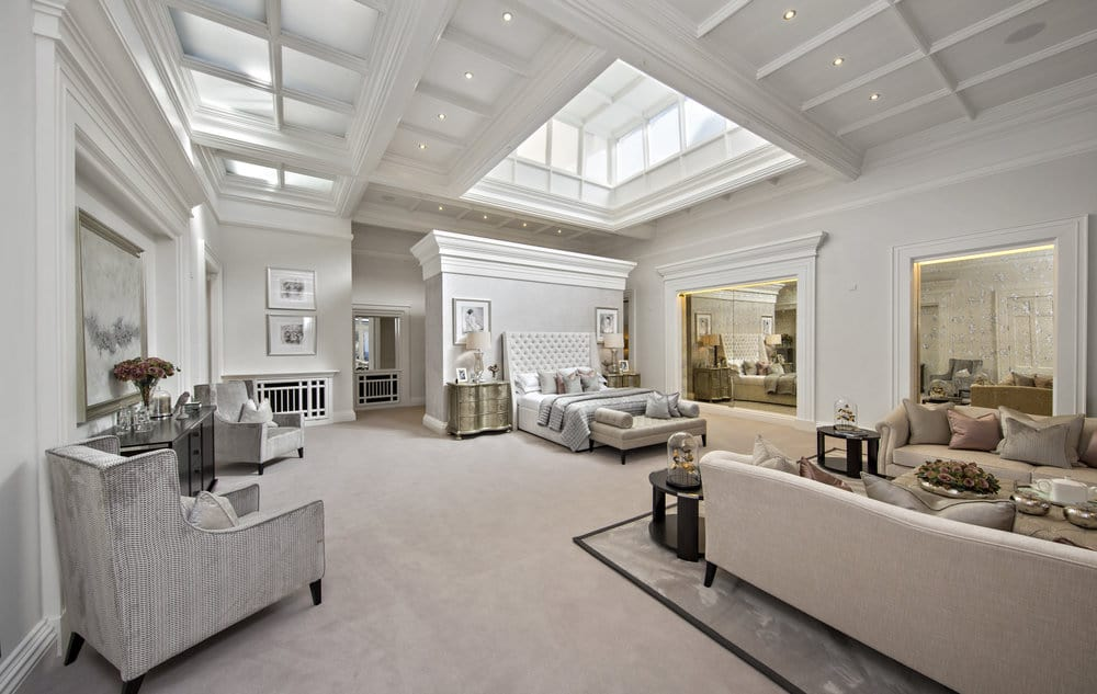 large home living room photo