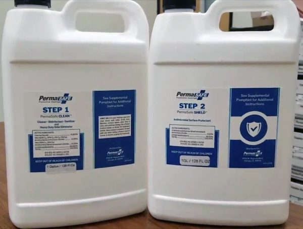 permasafe 2 step bottle image