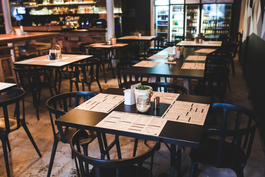 restaurant cleaning and disinfectant process